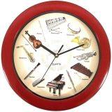 Часы музыкальные инструменты
