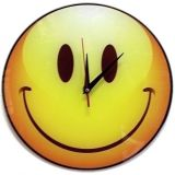 Часы Стеклянные Смайл